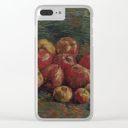 Apples by Vincent van Gogh Clear iPhone Case
