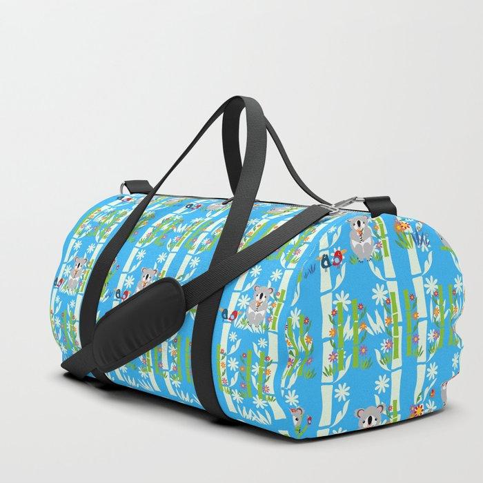 Cute Pair Of Koalas Duffle Bag