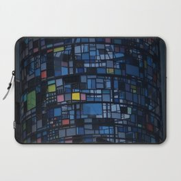 Stained glass water tower Laptop Sleeve