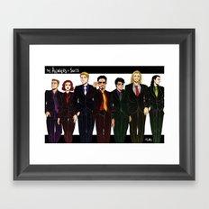 Suitvengers Framed Art Print