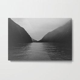 milford mist Metal Print