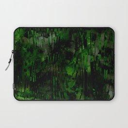 Black Wood Print Laptop Sleeve
