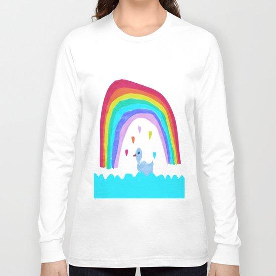 RAiNBOW DUCK Long Sleeve T-shirt