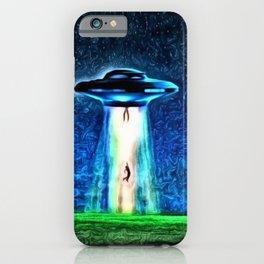 Area 51 Unidentified Flying Object Landscape iPhone Case