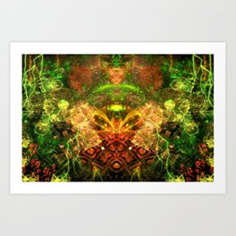 Extraterrestrial Palace 4 Art Print