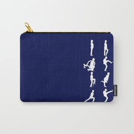 The TARDIS of Silly Walks Carry-All Pouch