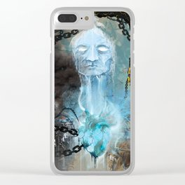 Water Is Life Clear iPhone Case