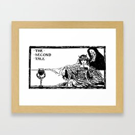 The Second Tale Framed Art Print