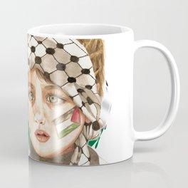Free Palestine in watercolor Coffee Mug