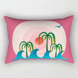 060 - Waiting for the big wave Rectangular Pillow