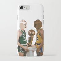 lakers iPhone & iPod Cases featuring lego magic by tbdaniel15