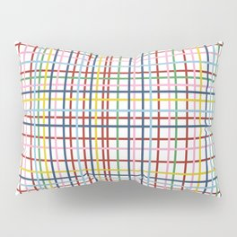 Rainbow Weave Pillow Sham