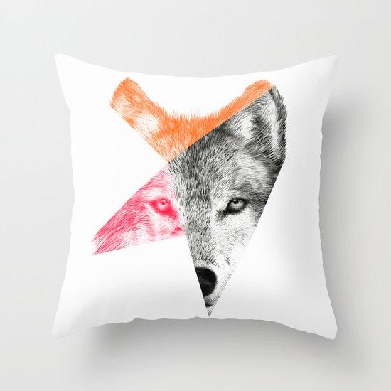 Wild by Eric Fan & Garima Dhawan Throw Pillow