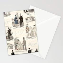 Biedermeier Couples Stationery Cards