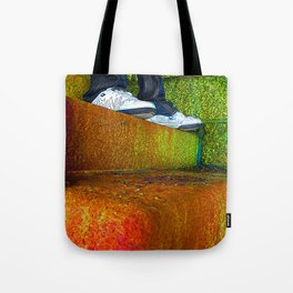 The Steps  Tote Bag