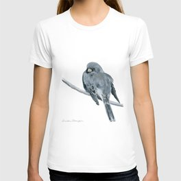 Black-Eyed Junco by Teresa Thompson T-shirt