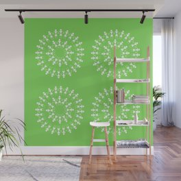 08WA016 Warli Art / Art by Amiee / Painting / Sweet Home / Artist Amiee Wall Mural