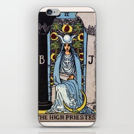 II. The High Priestess Tarot Card iPhone Skin