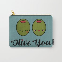 Olive You! Carry-All Pouch