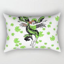 Irish lucky fairy Rectangular Pillow