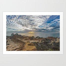 Broken Hill Sunset Art Print