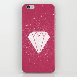 Space Diamond  iPhone Skin
