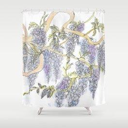 Wisteria Shower Curtain