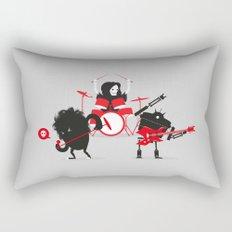 Monsters of Metal Rectangular Pillow