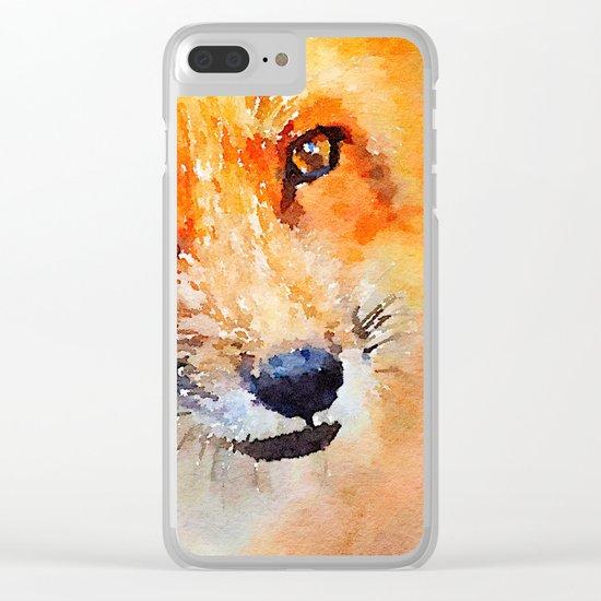 Fox 2 Clear iPhone Case