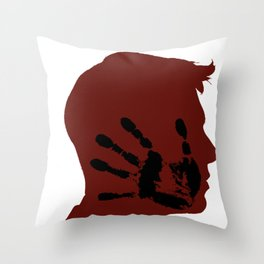 Slap Competition Hands Palm Games Sports Fun Gift Throw Pillow