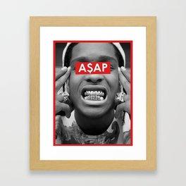 A$AP Framed Art Print