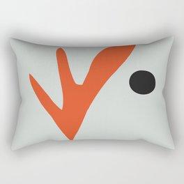 Matisse Cutout Poster, Henri Matisse Print, Matisse Exhibition Poster, Matisse Leaf ,wall art decor Rectangular Pillow