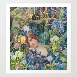 Enchanted Lullaby  Art Print