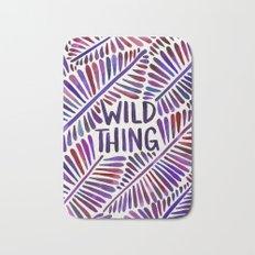 Wild Thing – Indigo Palette Bath Mat