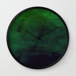 Watercolor (Witch's Blood) Wall Clock