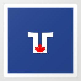 Flag of Toronto Art Print