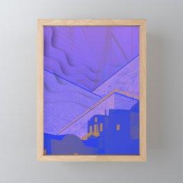 gaze Framed Mini Art Print
