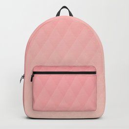 Relaxing Diamond Pattern - Warm Flame Backpack
