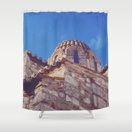 Medieval Stones Shower Curtain