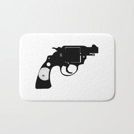 Detectives Revolver Bath Mat