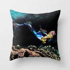 Siren Song Throw Pillow
