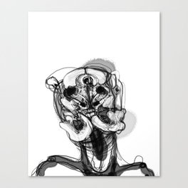 Memory Portrait II Canvas Print