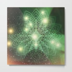 Geometry Dreaming Metal Print