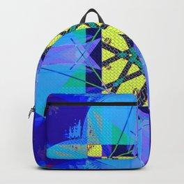 Blue Bali Backpack