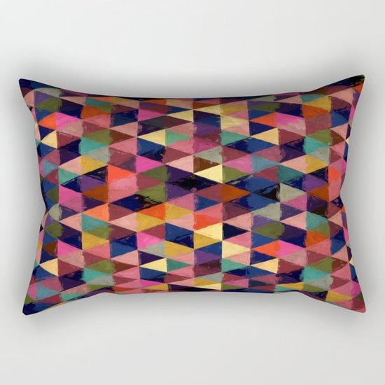 Abstract #374 Rectangular Pillow