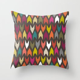 arrow multi Throw Pillow