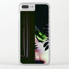 but this light is moving particles Clear iPhone Case
