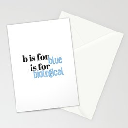 B is for Stationery Cards