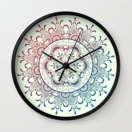 Tender mandala Wall Clock