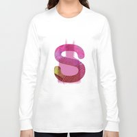 batgirl Long Sleeve T-shirts featuring batgirl by Hiena Illustration